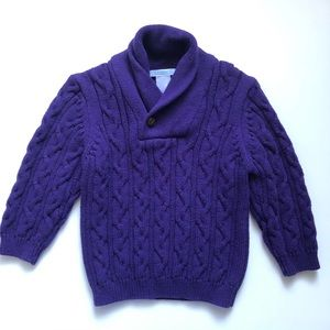 Janie and Jack cable knit sweater Sz 18-24 months